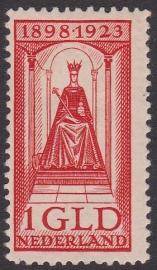 NVPH  129 Regeringsjubileum  Ongebruikt  Cataloguswaarde 40,00  E-1560