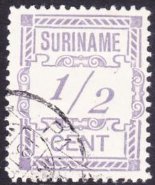 Plaatfout Suriname 65 P1  gebruikt