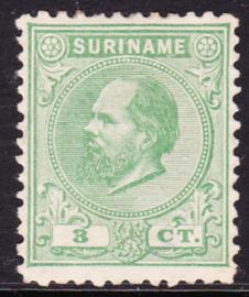 NVPH 4D Kamtanding 11,5 X 12 Koning Willem III Ongebruikt Cataloguswaarde 60,00