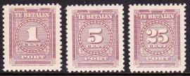 NVPH P33-35 Port American Banknote Cie Postfris  Cataloguswaarde: 24.00 E-2544