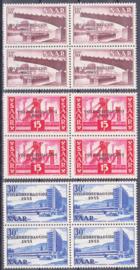 Saarland Mi: 362-364 Postfris / MNH E-7971 (ook als losse serie verkrijgbaar)