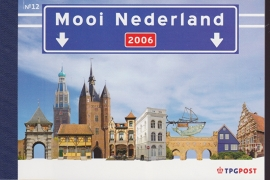 Prestigeboekje PR 12  Mooi Nederland 2006  cataloguswaarde 16,00