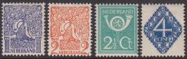 NVPH   110-113 Div. Voorstellingen Ongebruikt Cataloguswaarde 11.00  E-4368