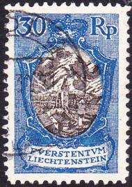 Liechtenstein 1925 Mi: 64 Gebruikt / Used