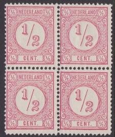 Plaatfout P  nrs. 1 t/m 499