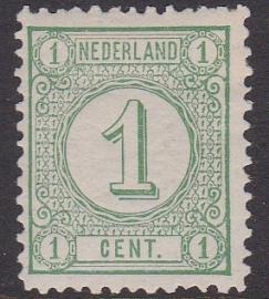 NVPH   31C  Cijferzegel Ongebruikt  cataloguswaarde 13.50 E-4611