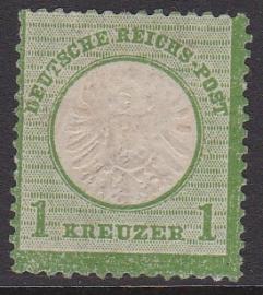 Mi   23a Freimarken: Adler mit GroBern brustschild Ongebruikt / unused zonder gom / no gum Cataloguswaarde: 12,00 E-2347