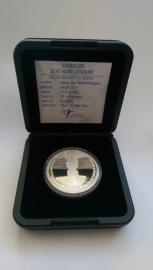 10 Euro 2002 Huwelijks tientje Willem-Alexander en Maxima Zilver  (Proof)
