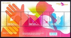 Plaatfout 2284a PM BLAUW Postfris  A-0411