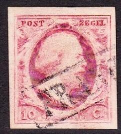NVPH   2 Koning Willem 3 gebruikt Cataloguswaarde 35.00 E-2323
