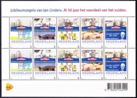 Persoonlijke Postzegels Jan Linders 50 jaar A-0299