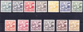 NVPH LP4-LP16 Mercuriuskop Ongebruikt cataloguswaarde: 30.00