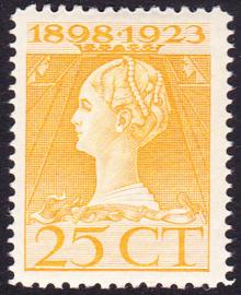 NVPH 126 Regerings Jubileum Postfris Cataloguswaarde 20.00
