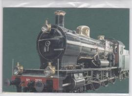 NVPH 2366-2369 OP 4 BRIEFKAARTEN VOORGEDRUKT TREINEN TRAINS / RAILWAY 2005