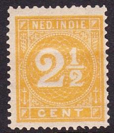 NVPH 19 Cijferzegel Ongebruikt cataloguswaarde: 1.50  E-0141