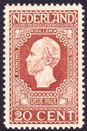 NVPH   95 Jubileum 1913 Postfris Cataloguswaarde 48.00