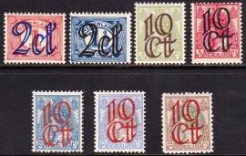 NVPH   114-120 Opruimingsuitgifte Ongebruikt Cataloguswaarde 34.00  E-1315