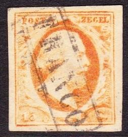 NVPH   3  Koning Willem 3 gebruikt Cataloguswaarde 170.00 E-2349