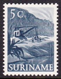 Plaatfout Suriname 299 P1 Ongebruikt E-3284