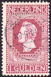 NVPH   98 Jubileum 1913 gebruikt Cataloguswaarde 25.00