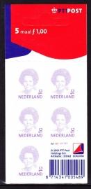 V1491b Beatrix inversie Postfris