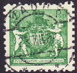 Liechtenstein 1921 Mi: 50A Gebruikt / Used