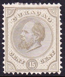 NVPH   6  Koning Willem III  Cataloguswaarde 50,00
