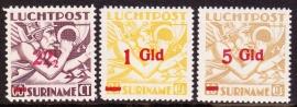 NVPH LP24-26 Mercuriuskop overdrukken Ongebruikt cataloguswaarde: 59,00 E-2051