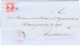 Eerste emissie Koning Willem III 1852