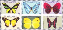 NVPH   10-15 Vlinders 2011  Postfris