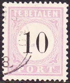 NVPH P3 TYPE I  zeer luxe Gebruikt Cataloguswaarde 170,00