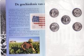 De geschiedenis van de USA Quarters (Muntclub)