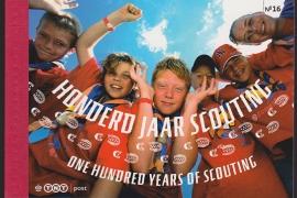 Prestigeboekje PR 16  Scouting cataloguswaarde 16,00