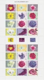 NVPH    16-27 Bloemen Compleet vel Postfris  A-0396