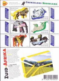 NVPH V2844-2849C Grenzeloos Nederland-Zuid Afrika 2011 Postfris A-0854