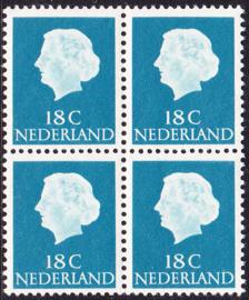 Plaatfout  620 PM3 Postfris in blok van 4 Cataloguswaarde 50,00  E-6177