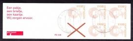 Postzegelboekje 43B Gestempeld (filatelie)