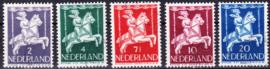 NVPH  469-473 Kinderpostzegels 1946 gebruikt