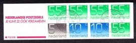 Postzegelboekje 33B Gestempeld (filatelie)