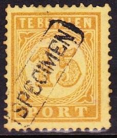 NVPH P3 Port+ SPECIMEN Ongebruikt cataloguswaarde: 85.00  E-2090