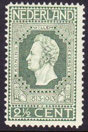 NVPH   90 Jubileum 1913 Postfris Cataloguswaarde 2.00