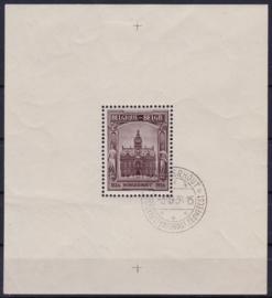 OBP  436  BL5 Tuberculose bestrijding 1936 Gebruikt / Used Cataloguswaarde: 95,00 A-0239
