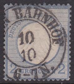 Mi    5 Freimarken: Adler mit kleinem brustschild Gebruikt / Used Cataloguswaarde: 20,00 E-2091