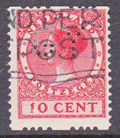 Plaatfout  153 PM6 op roltanding R10 gebruikt  Cataloguswaarde 160,00  E-6210