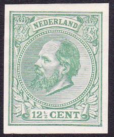 Nederland  Willem III NVPH  Proef PC93 in het groen