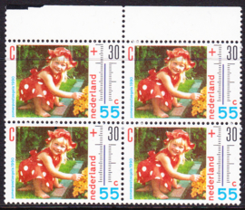 Plaatfout  1444 PM  Postfris in blok van 4  Cataloguswaarde 18,00  E-8688