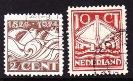 NVPH  139/140 Ned. Reddingsmaatschappij Gebruikt  Cataloguswaarde 6.00 E-2968
