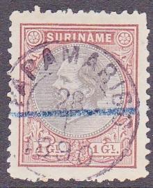 NVPH 14 Koning Willem III Gebruikt Cataloguswaarde 65.00 E-2919