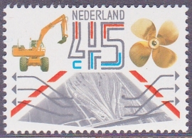 Plaatfout  1228 P   Postfris     Cataloguswaarde  7,00  E-5757