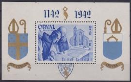 OBP PR?? 800e verjaardag van de eerste Abdij van Orval 1942 Ongebruikt / MH Cataloguswaarde: ??? A-0182